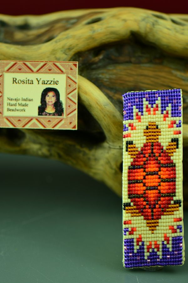 Navajo Beaded Turtle Barrette