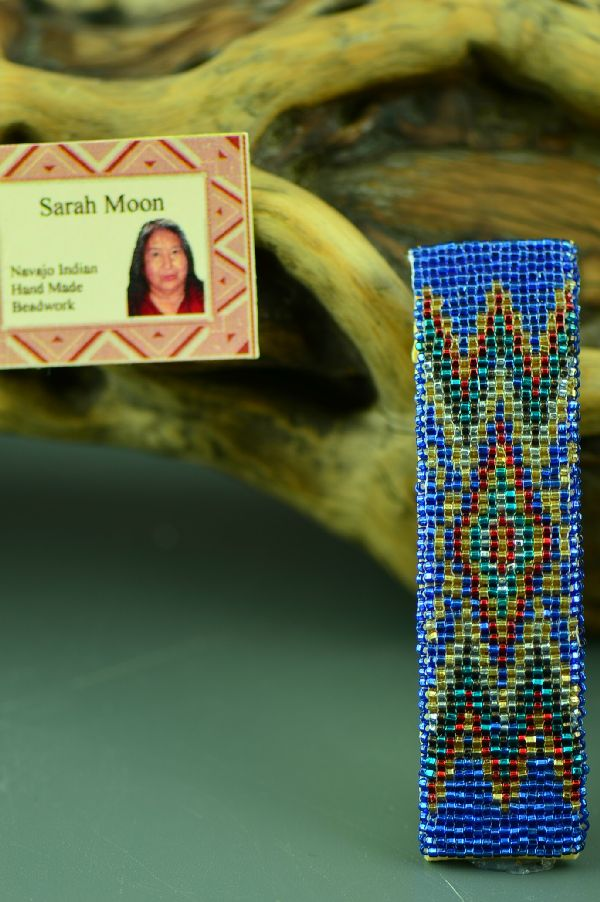 Sarah Moon Beaded Navajo Barrette