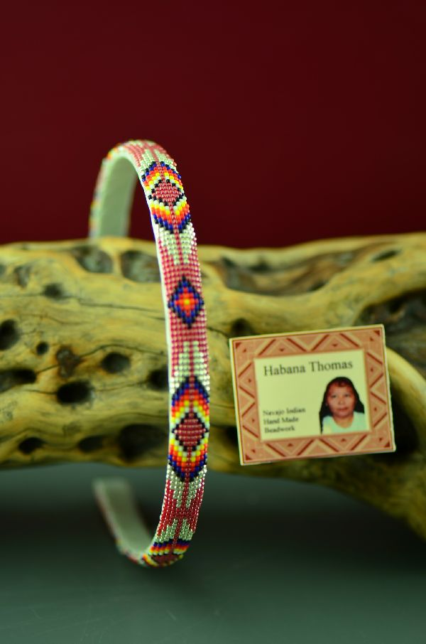 Habana Thomas Navajo Beaded Head Band