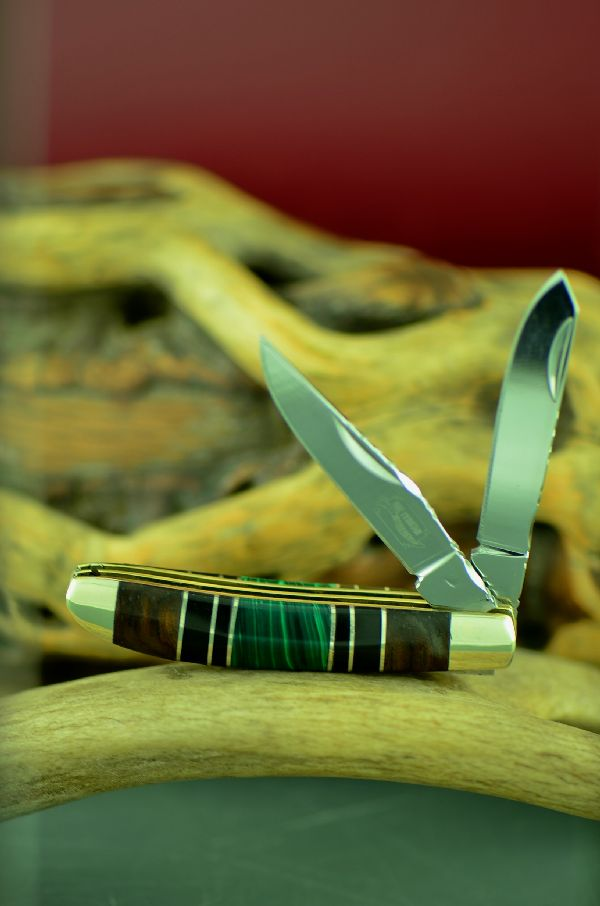 Bash Dani Malachite Knives