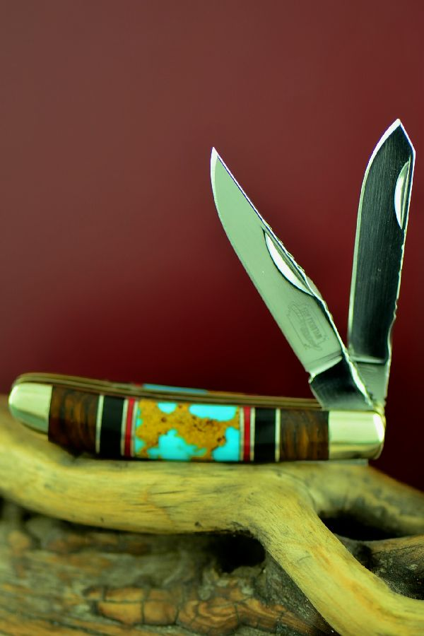 2 Blade Cherokee Mini Trapper Knife