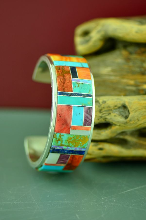 American Indian Bracelet Inlaid