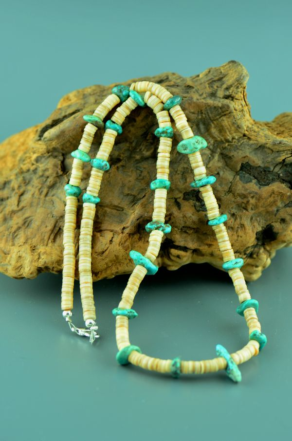 Native American Kingman Turquoise Necklaces