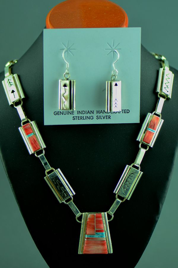 Sandra Parkett Necklace and Earrings