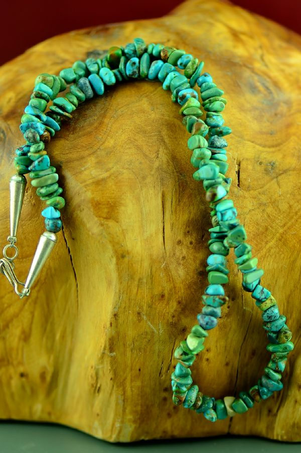 Marie Begay Kingman Turquoise Necklace