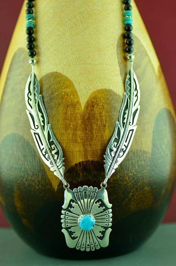 Rosita Singer Feather Necklaces