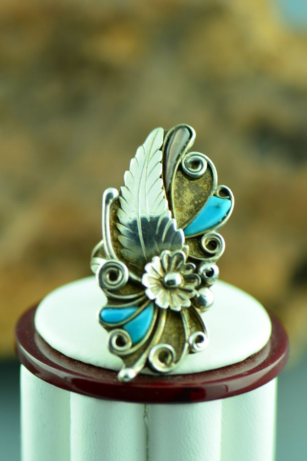 Turquoise Ring by Silverleaf