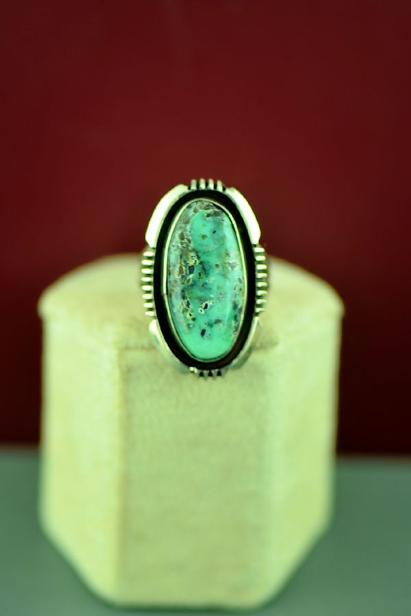Will Denetdale Apache Turquoise Ring