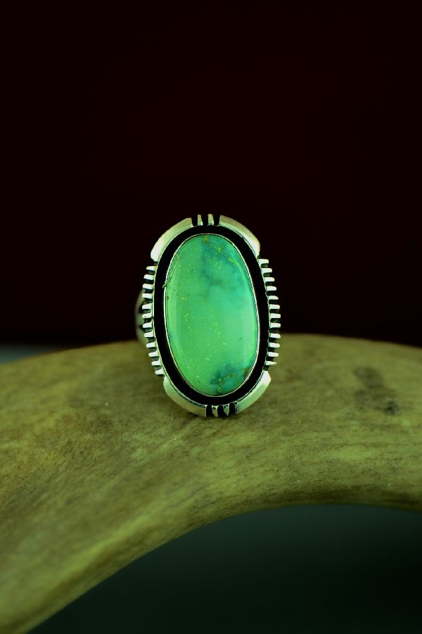 Native American Ajax Turquoise Rings