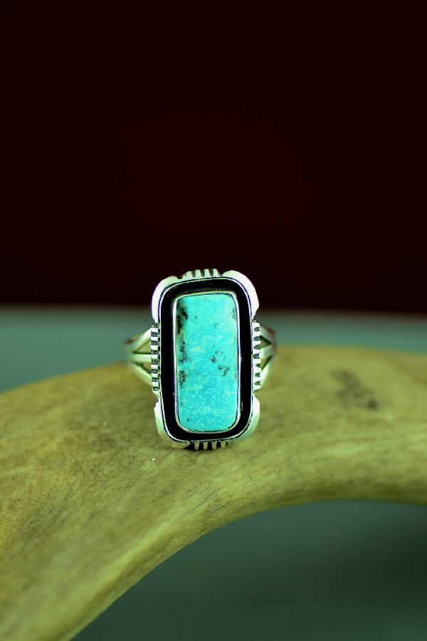Dry Creek Turquoise American Indian Ring