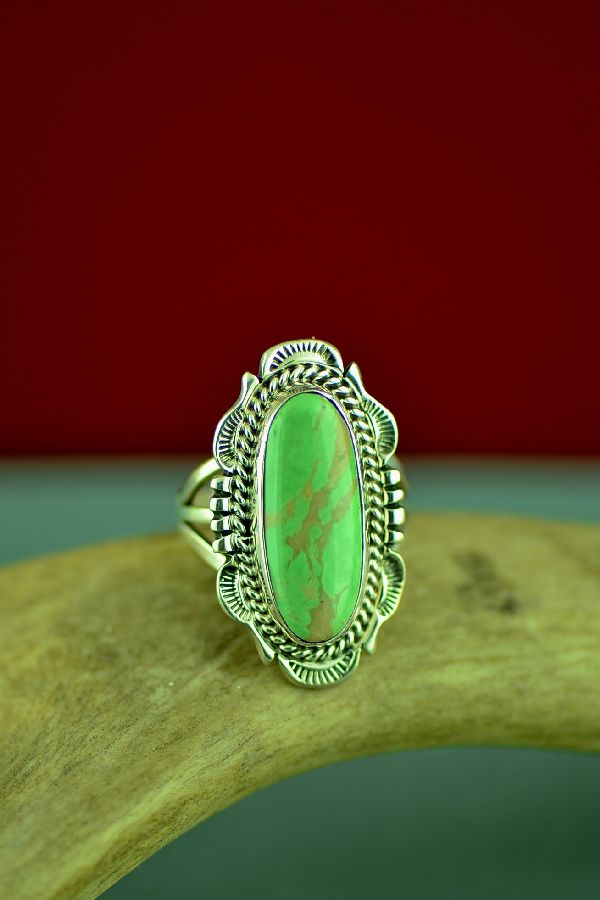 American Indian Ajax Turquoise Ring