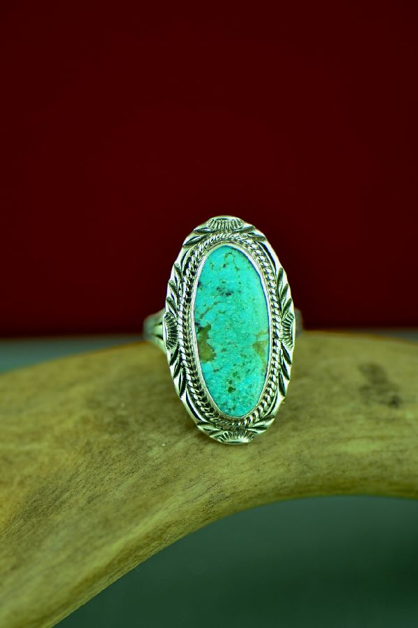 American Indian Dry Creek Turquoise Rings