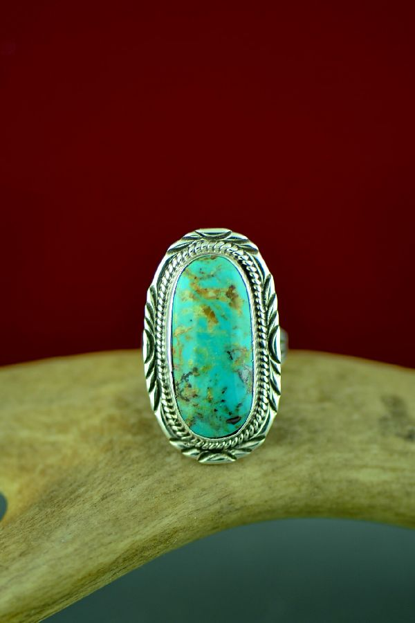 Royston Turquoise Navajo Rings