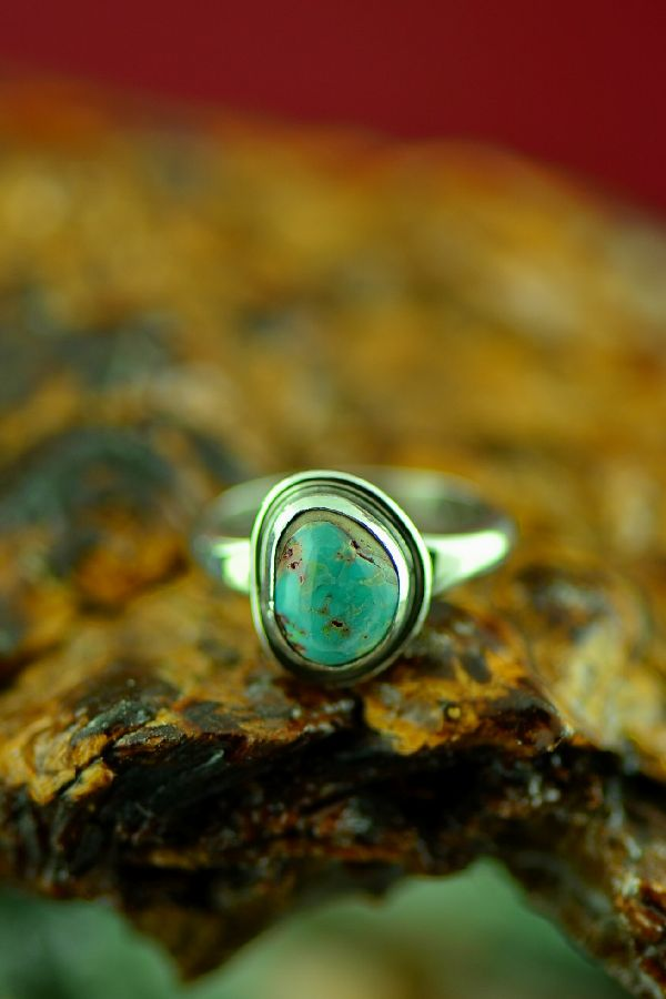 Size 5 Bisbee Turquoise Ring