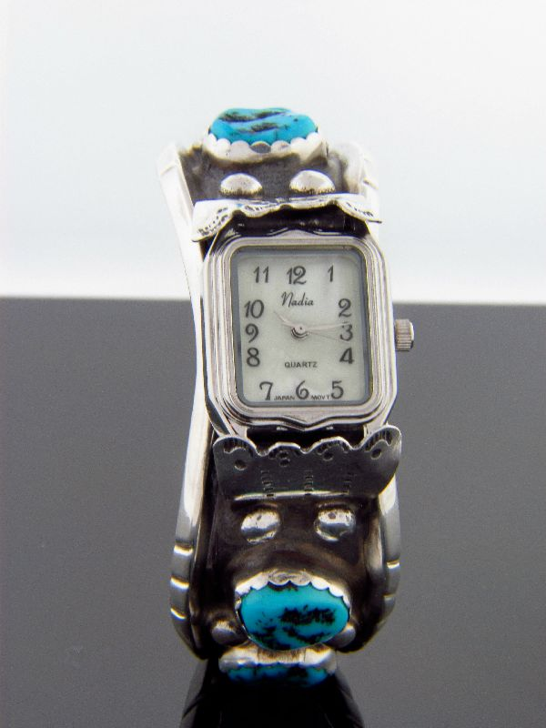 Sleeping Beauty Turquoise Watch