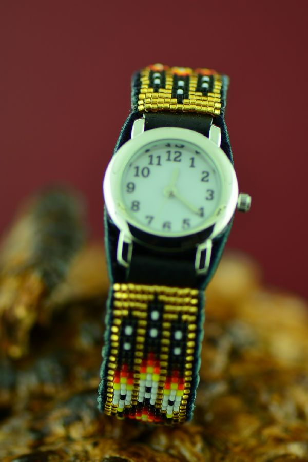 Daniel Yazzie American Indian Beaded Watch Bracelets