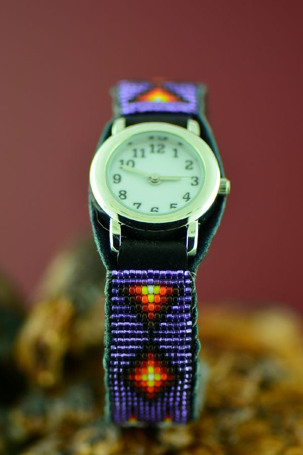 Native American Beaded Watch Bracelets