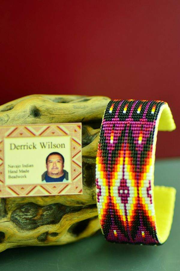 Derrick Wilson Navajo Traditional Beaded Bracelet