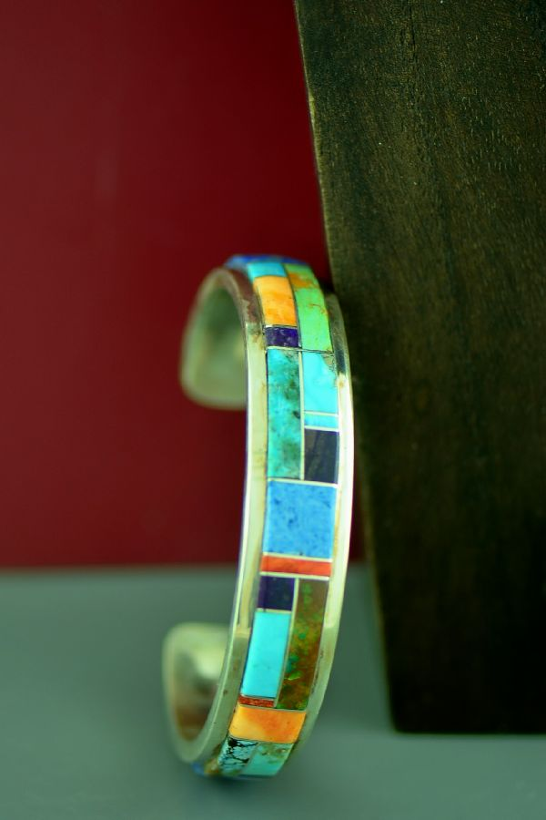 Native American Inlaid Bracelet