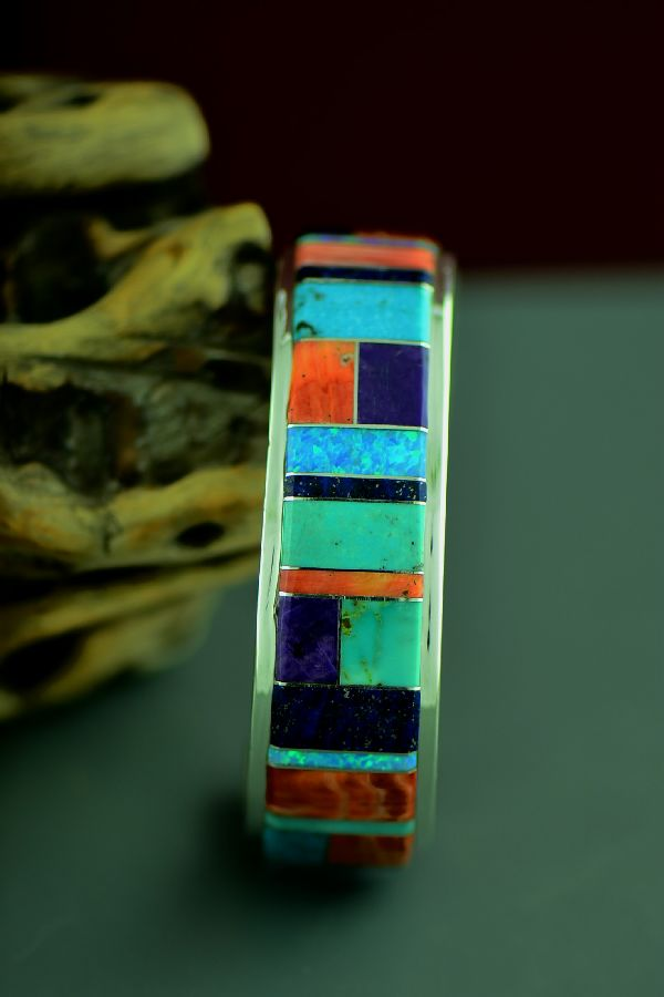 Quality Native American Inlaid Bracelet