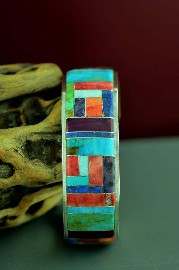 High Quality Navajo Inlaid Bracelets