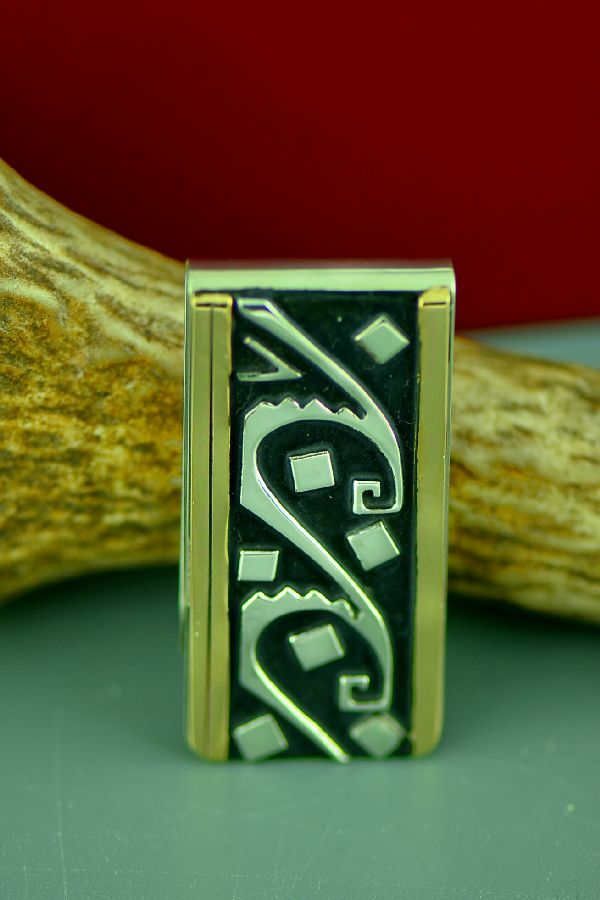 Rose Singer Navajo Money Clips