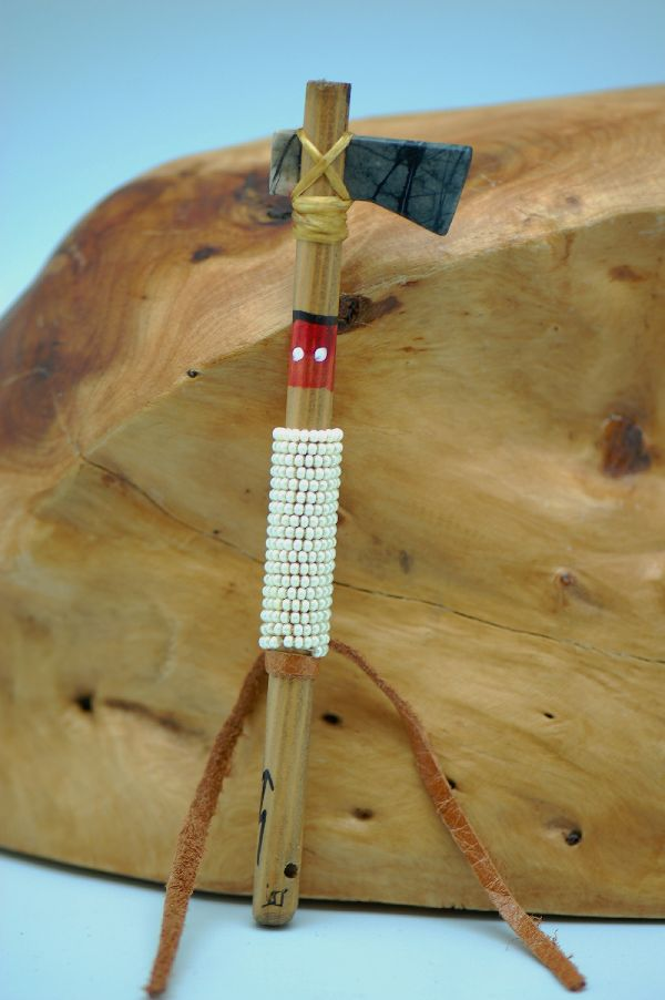 Navajo Beaded Tomahawk