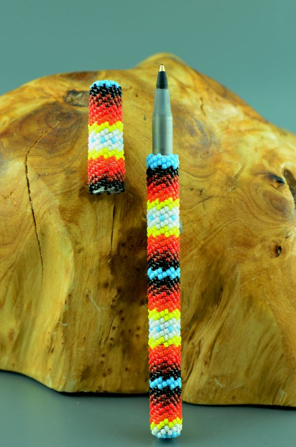 Native American Beaded Pens