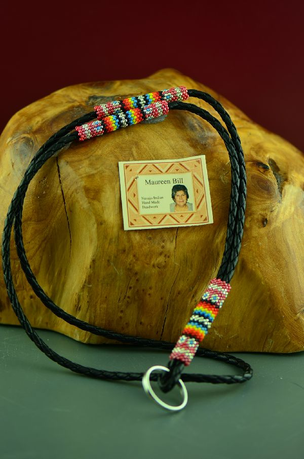 Maureen Bill American Indian Lanyard