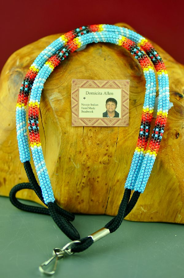 Beaded American Indian Lanyards