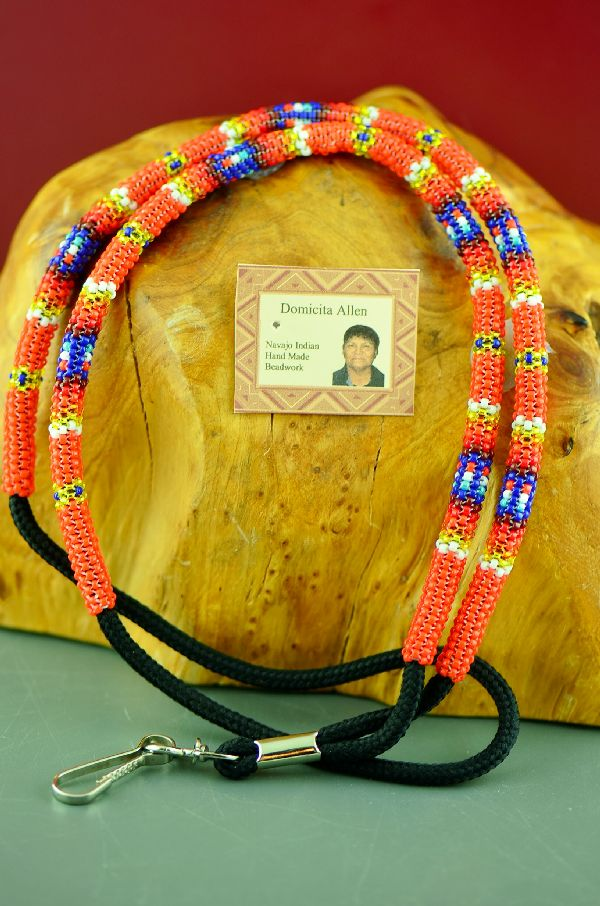 Dormacita Allen American Indian Beaded Lanyard