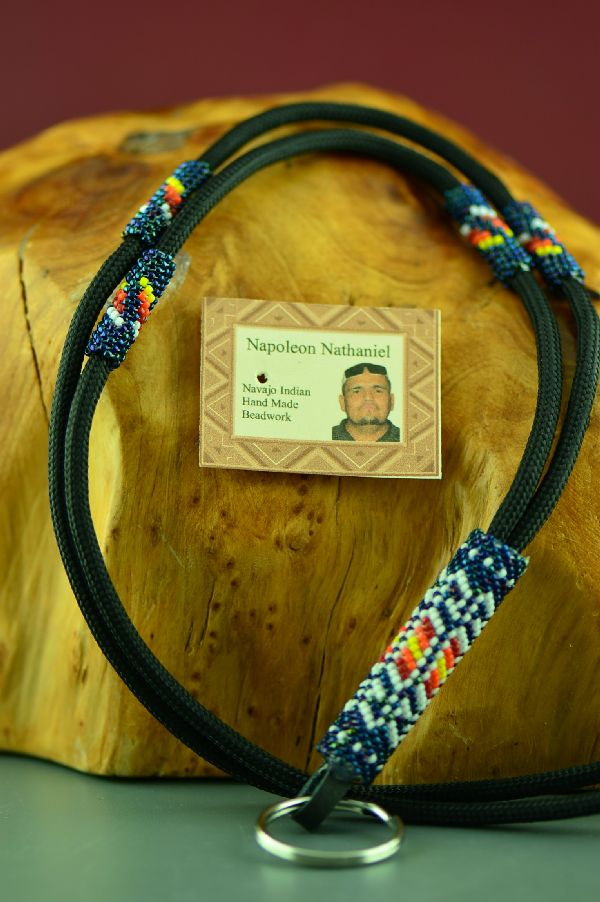 Beaded American Indian Lanyard
