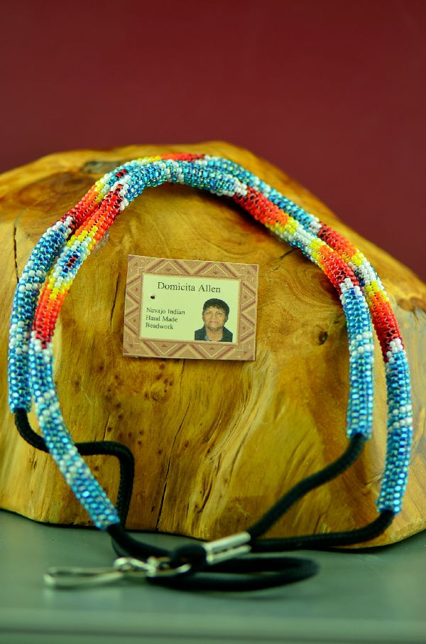 Domacita Allen Beaded American Indian Lanyards