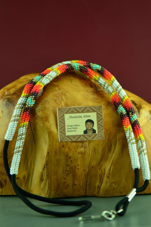 Beaded ID Badge Holders
