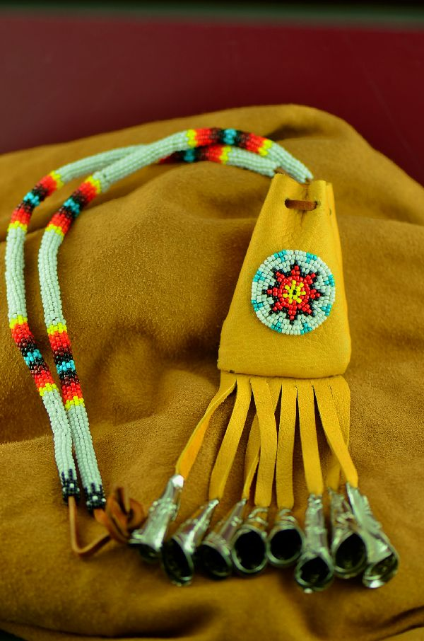 Authentic White Mountain Apache Medicine Pouch