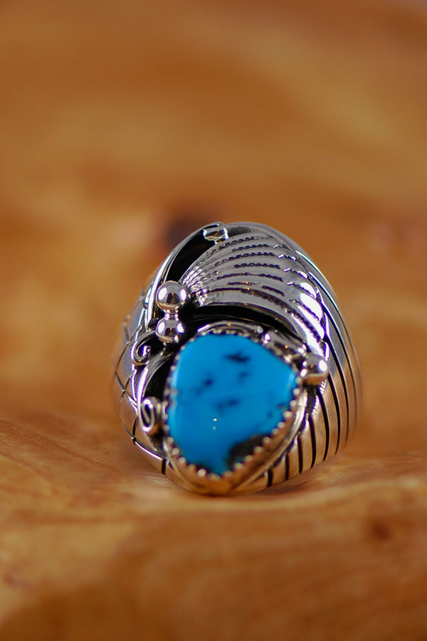 Turquoise Mans Ring