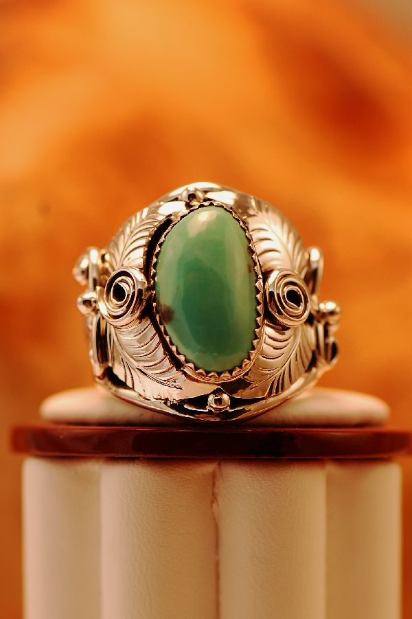 Nevada Turquoise Mans Ring
