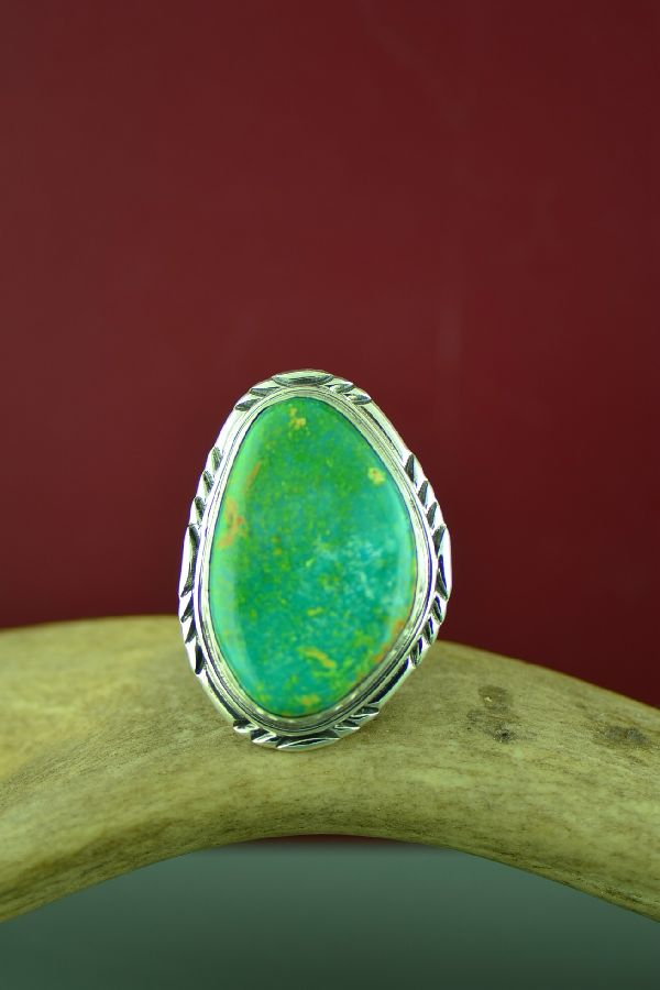 Will Denetdale Mans Turquoise Ring