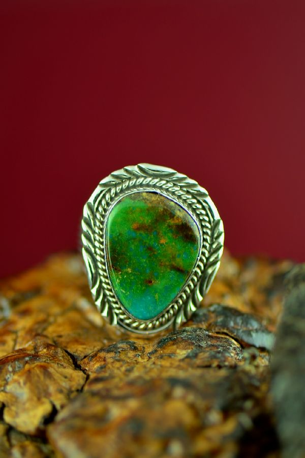 Royston Turquoise Ring Native American