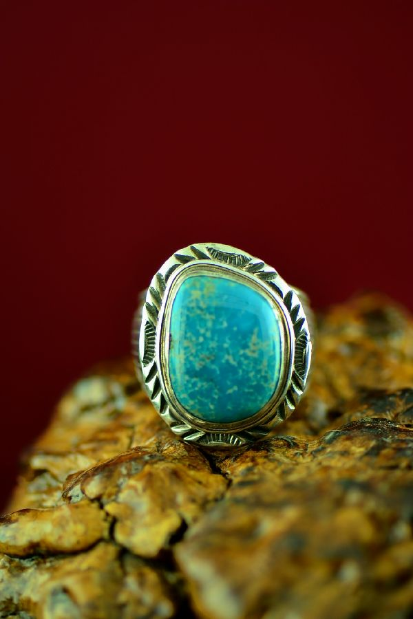 Will Denetdale Blue Gem Turquoise Rings