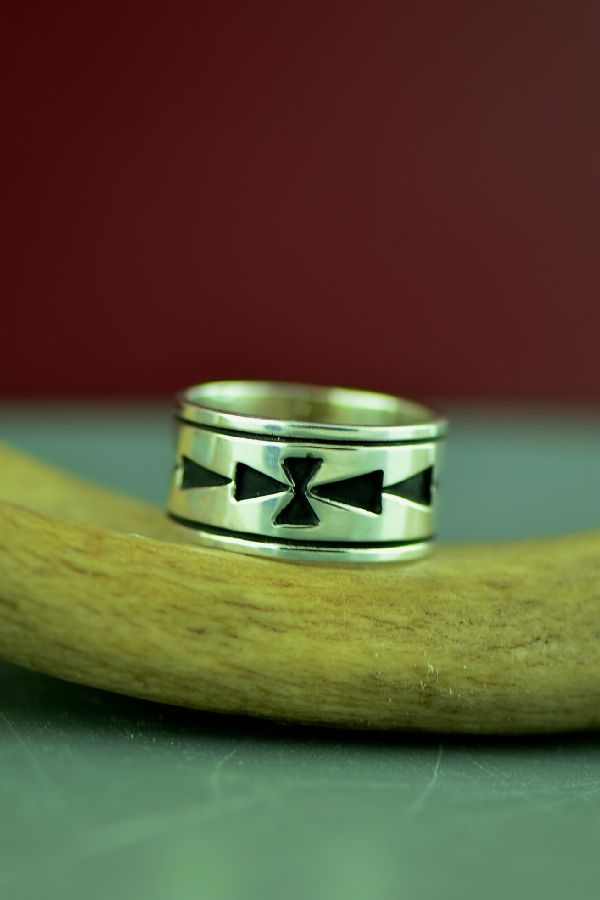 Size 12 Native American Ring