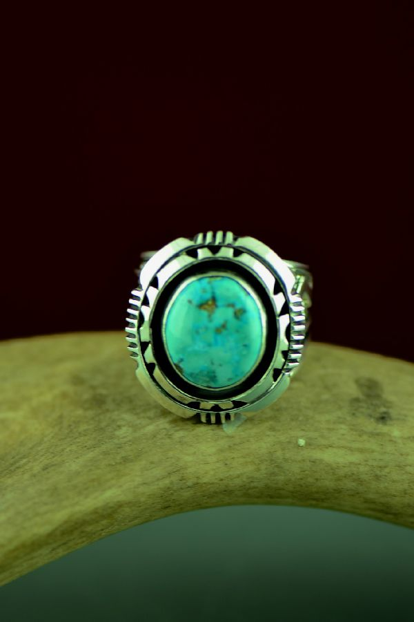 Will Denetdale High Grade Bisbee Ring