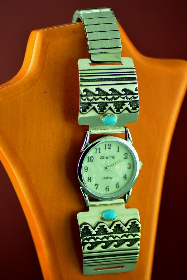 Turquoise Native American Watch Band