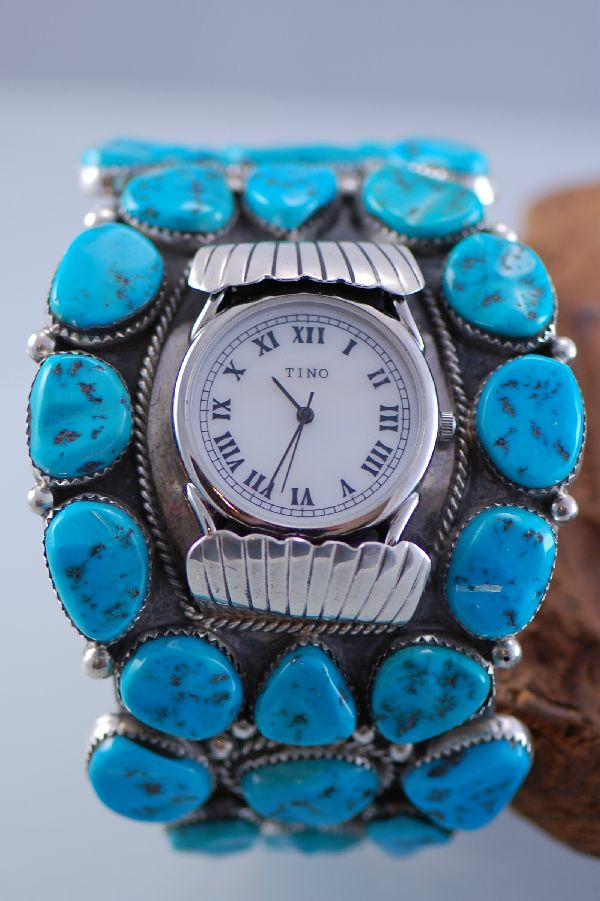 Ben Touchine Turquoise Watch Bracelet
