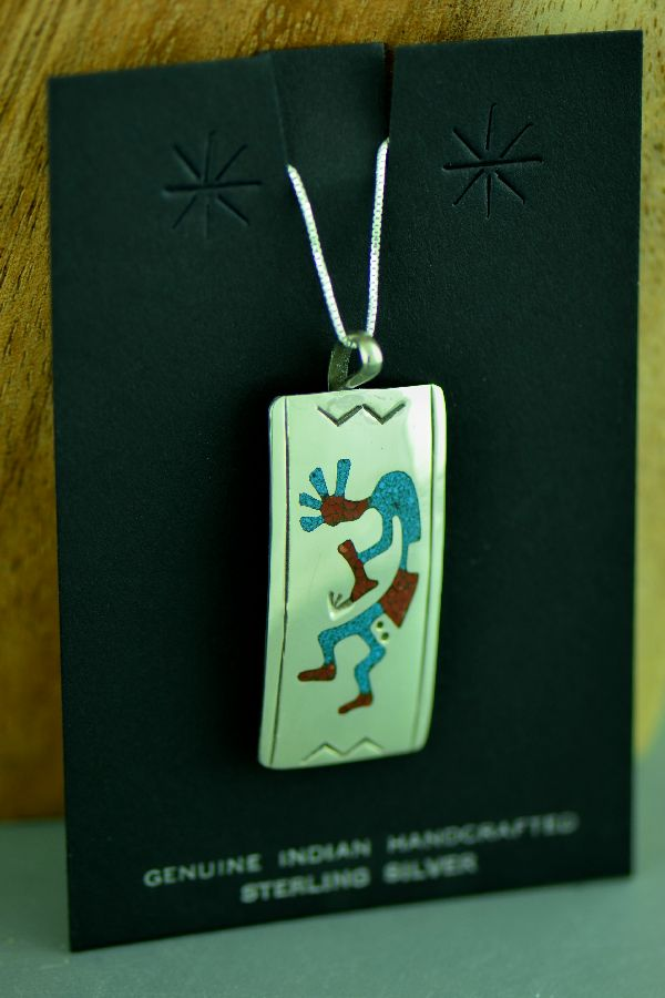 Authentic American Indian Kokopelli Pendants