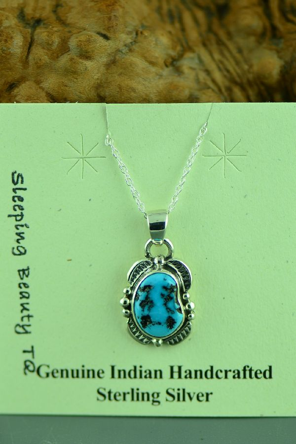 Navajo Sleeping Beauty Turquoise Jewelry
