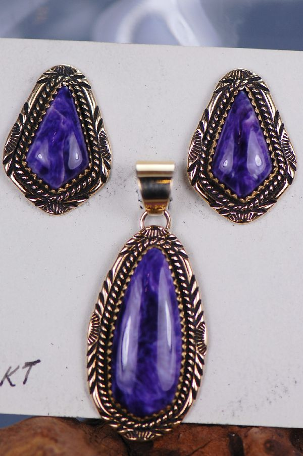 Exquisite Pendant and Earring Set
