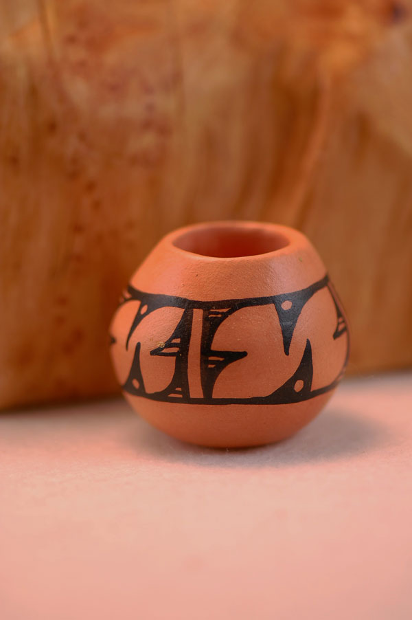 Navajo Miniature Hand Painted Pottery